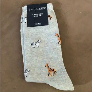 J Crew adorable socks